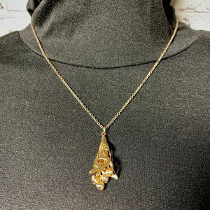 A.P.C. Pendant on Chain Necklace